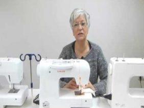 Máquina de coser automática
