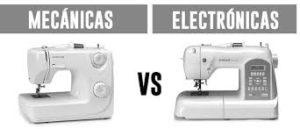 Máquinas de Coser Electronicas vs Mecánicas