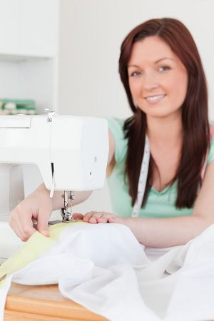 Máquina para coser cuero